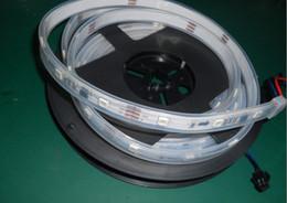 Wholesale Changeable Case - Hot Sale Mini 5m 30 Leds m 5050 Rgb Led Digital Waterproof Addressable Color Strip Dc5v-12v-24v Ip68 Casing