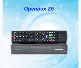 Wholesale Portable Tv Sets - Latest Version OpenBox Z5 HD Set Top Digital Satelliate Receiver openbox z5 hd OPEN BOX Z5 HD Support USB WIFI 1pcs