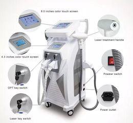 Wholesale Ipl Laser Treatment Machines - Multifunction OPT Elight SHR IPL Hair Removal Q Switch Nd Yag Laser Tattoo Removal RF Skin Rejuvenation Machine