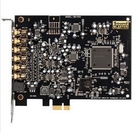 Original 100% brandneue Creative Sound Blaster Audigy 5 interne Soundkarte 7.1 Kanäle 106dB SNR Dual Mikrofoneingänge von Fabrikanten