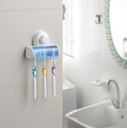 Wholesale Toothbrush Spinbrush Holder - 5 Set Home Bathroom Toothbrush SpinBrush Suction Holder Free Shipping