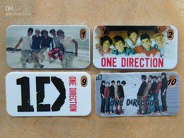 Wholesale Iphone 1d - wholesale One Direction band 1D hard white case cover for iphone 4 4G 4S +free shipping