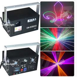 Wholesale Ilda Rgb - Wholesale- 2 watt rgb chrismas outdoor laser ilda animation show