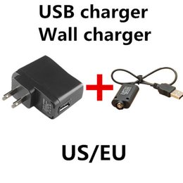 Wholesale Wholesale E Cigarettes Uk - Promotion Wall Charger OR USB Charger for Electronic Cigarette E-cigarette E-cig Ego t Ego Adapter Kits US UK EU AU Charger Great Quality