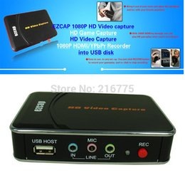 2017 videos edit 1080P HD Video Capture Recorder Box Capture de jeu HDMI pour XBOX One / 360 / PS3 / WII U avec logiciel d'édition professionnel Ezcap280 videos edit pas cher
