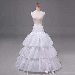 Wholesale Tulle Wedding Dress Slips - 2015 New Arrivals Bridal Gown Wedding Dress Petticoat Underskirt Crinoline Skirt Slip Tulle Nylon Bridal Accessories 12002