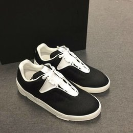 Wholesale Luxury Leather Sport Shoes Men - Hot Fashion Famous Brand CD Casual shoes Top Luxury Brand Designer Men Sport Running Shoes Sneakers with box