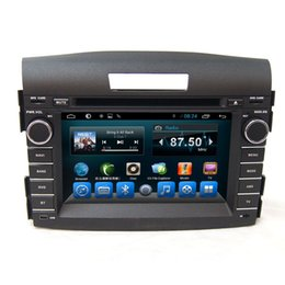 Wholesale Car Dvd Honda Crv - Car dvd player in car entertainment system built in bluetooth mp3 tv wifi fit for Honda CRV 2012