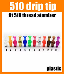 Wholesale Wholesale Plastic Skull - E cigarette atomizer driptips 510 drip tip plastic skull drip tips colorful 2015 cool shape for rda rba e cigarette free ship FJ182