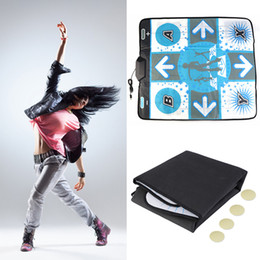Wholesale Dancing Mats For Tv - Newest Anti Slip Dance Revolution Pad Mat Dancing Step for Nintendo for WII for PC TV Hottest Party Game Accessories