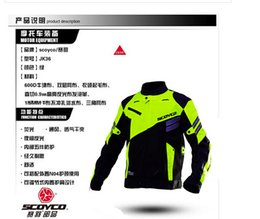 suppliers-suppliers Canada - Yu motorcycle race jersey reflective vest spring and summer clothes knight racing jacket windproof motorcycle clothing M Night