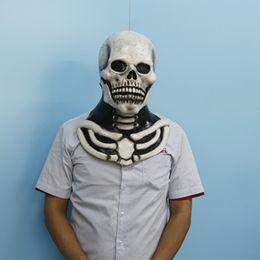 Atacado-X-FELIZ ADULTS Alta Qualidade Máscara Adult Horror Novidade Halloween Latex Mask de Fornecedores de óculos linhas amarelas