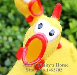 Wholesale Shrieking Chicken - Pet Toy Dog Shrieking Chicken Crazy Chicken Screaming Pet Sound Toys Toys For Big Dogs