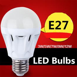 Wholesale Epistar Chip Led 3w - LED Globe Bulb E27 LED Bulbs 3w 5w 7w 9w 12w Led Bulb Light 2835SMD LED Chips 85-265V LED Light Indoor Pendent Light Bulb Ceiling Lamp Bulb
