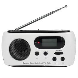 Wholesale Solar Power Flashlight Radio - Digital FM   AM Radio Solar Dynamo Powered Emergency Charger 3 LED Flashlight Y4169B