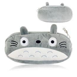 Wholesale Totoro Cosmetic Bag - New Kawaii Japan TOTORO School Kids Pen Pencil BAG GIFT BAG Lady Girl's Cosmetics Purse BAG & Wallet Coin Holder Pouch BAG Case