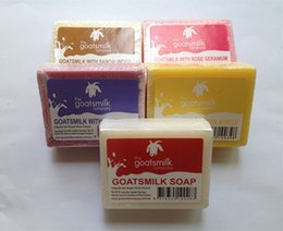 Wholesale Australia Imported Goat Milk Handmade Soap Essential Coconut Oil Whitening Cleansing Soap Moisturizing Face Soap Skin Care