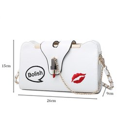 Wholesale Framed Embroidery - Hot PU Leather Women Handbag Fashion Embroidery Chain Shoulder Bag for Crossbody Bag
