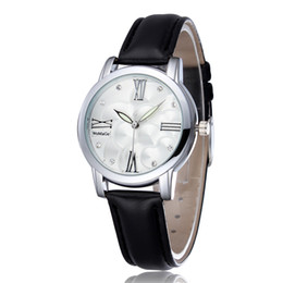 Wholesale wholesale watches japan - New Fashion Casual Wrist Watches Japan Quartz Watch Movement Colock For Women Dress Mix 9 Color Free Shipping