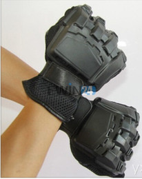 Wholesale Wholesale Tactical Gloves - High Quality Hunting Gloves Black Outdoor Sports Military Tactical Airsoft Hunting Cycling Gloves M Hot Selling 100pairs