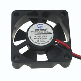 2019 35-мм вентилятор Wholesale- 2 Pieces/lot Gdstime 35*35x10mm 3510S 12V 2 Pin XH2.54 CPU PC Cooling Fan 35mm дешево 35-мм вентилятор