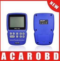 Wholesale Original Calculator - 2018 Original VPC-100 Hand-Held Vehicle PinCode Calculator VPC-100 (300 tokens+200 tokens ) VPC100 Pin Code Calculator free shipping