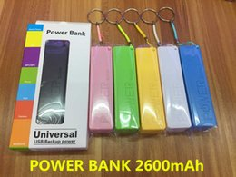 Wholesale Perfume Mobile Phone Power Bank - 2600mAh Power Bank Charger Portable Perfume 2600 mah Mobile Phone USB Power Bank External Backup Battery Chargers for Samsung iPhone HTC MP3