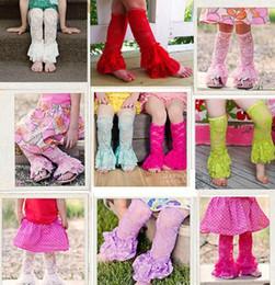 Wholesale Baby Tutu Socks - 2016 Spring Baby Lace Flower tutu tulle baby leg warmer Kneepad Boot Crochet Legs Warmers Leg Warmers Boot Princess Warm Chiffon Socks D6397
