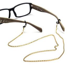 Óculos de leitura óculos óculos óculos de sol titular pescoço cordão de metal alça de corrente de Fornecedores de titular de espetáculos