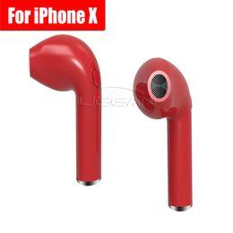 Wholesale Bluetooth Headset Cell - 2017 HBQ I7 True Wireless Bluetooth headphone V4.1 portable Mini headset Business office earphone Universal for iphoneX Samsung smart phones