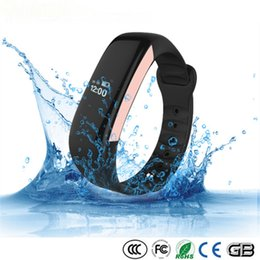 Wholesale Price Oxygen - Shenzhen manufacture price water proof IP67 activity sleep wristband bluetooth 4.0 heart rate monitor smart cicret bracelet for IOS Android