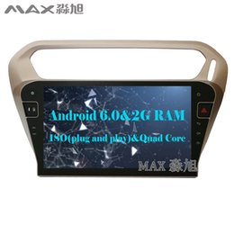 """Wholesale Car Dvd Player Gps Peugeot - 2G+16G 10.1"""" Android 6.0 Car DVD Player for Peugeot 301  Citroen Elysee 2014 with 1024*600 Radio BT WIFI SWC GPS"""