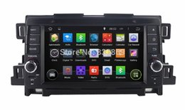 "Wholesale Pc Dash Screen - 1024*600 Quad-Core HD 2 din 7"" Android 4.4 Car PC DVD Radio for MAZDA CX-5 CX5 2012-2014 With GPS Navi 3G WIFI Bluetooth Car DVD"