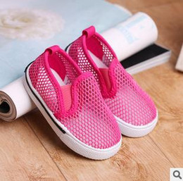 Wholesale Girls Guaze - Wholesale-2015 summer new design baby beach sandals sweet colour mesh guaze sandals boy and girls casual shoes baby toddler shoes