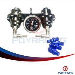 Wholesale Oil Regulators - PQY STORE-TM TYPE'S Fuel Pressure Regulator  Fuel Regulator With Fuel Press Oil Gauge PQY7543
