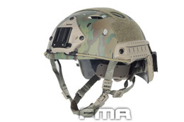Wholesale Ops Core Tactical Helmets - FMA Tactical FAST Helmet PJ TYPE for airsoft Adjustable CS Dial Pararescue Jump Protective Ops-Core Helmet TB390 TB466