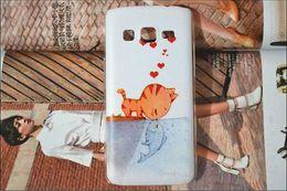 Wholesale Lg L9 Ii Case - Wholesale-10 pattern   flower Painting Hard Case Cover for LG Optimus L9 II D605 case cover   for LG L9 II Optimus phone case gel skin