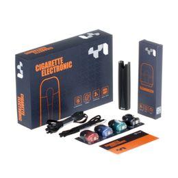 Wholesale Wholesale Pods - Boge Y1 Starter Kits 650mah Vape Pen With USB Charger 4 Flavor Disposable Cartridge Pods VS Juul Pods Juul Veer Kit