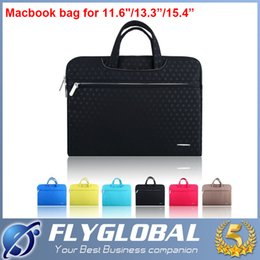 Wholesale Macbook 13 Case Fashion - Portable Fashion Soft Sleeve Laptop Bag Case Briefcase Handlebag Pouch for 11inch 13inch 15inch Macbook Air Pro Ultrabook Laptop