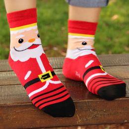 Wholesale Designer Wool Dresses - Newest 3D Pritned Women Christmas Designer Cartoon Dress Santa Claus Bear Deer  Snowman Socks Winter Wool Socks Xmas Socks Women