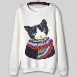Stampa di minion online-Lady hoodies 2015 Abbigliamento invernale Casual Minion Stampa Cartoon Sport Suit Girocollo 3d Felpa con cappuccio da donna