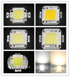 Chips de energia on-line-10 W / 20 W / 30 W / 50 W / 100 W Luzes LED de Alta Potência Da Lâmpada Contas Branco quente / Branco Taiwan Genesis 30MIL Chips Frete grátis