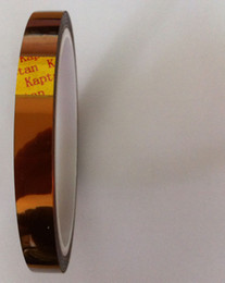 Wholesale Hot Melt - 10pcs lot Polyimide tape film High Temperature for BGA Soldering 10mmx33m