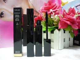 Wholesale Thick Makeup - Professional wholesale and retail makeup newest high-quatliy brand 6g BLACK mascara free shipping