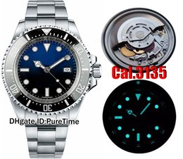 Top N V7 Meilleure Edition Cal.3135 Mouvement Super 3135 Mouvement Céramique Noir Lunette Cadran Noir Pour Hommes Bleu Lumineux Top Qualité Rollie ? partir de fabricateur