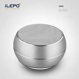 mini light bars Coupons - LED Light R9 Mini Bluetooth Speakers Metal Subwoofer Wireless Speaker Computer TF FM Mic For iPhone X 8 Samsung S8 Charge 3 Pluse sound bar