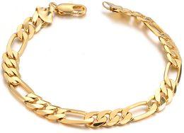 Wholesale Bangle 18 - 18 k gold filled the man bracelet, factory direct sale,wholesale bracelet