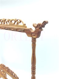 Wholesale FREE SHIPPNG antique decorative chinese writing brush holder Manual sculpture brush pen rack jade brush Penholder