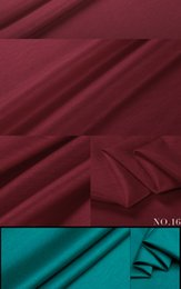 Wholesale Silk Fabric Shirts - 2016 new jersey 100% linen ramie knit fabric weight 150G-280G 14 color silk feel retail wholesale T-shirt, dress fabric top quality hot
