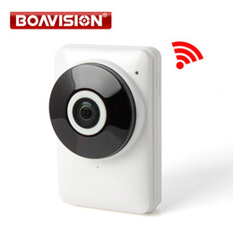 Wholesale Vision View - HD 720P Wifi IP Camera Panoramic 180 Degree View Night Vision Mini Wireless Baby Monitor 1.0MP CCTV Smart Camera Security P2P